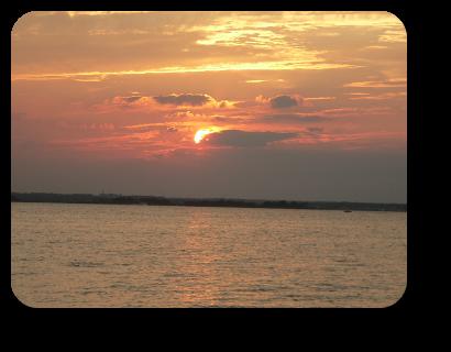 Sunset Barnegat Bay, Lavallette, NJ on 10 July at 20:13.