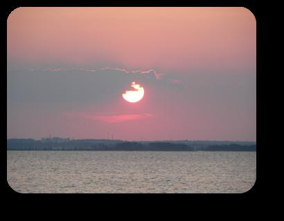 Sunset Barnegat Bay, Lavallette, NJ on 11 July  20:16.