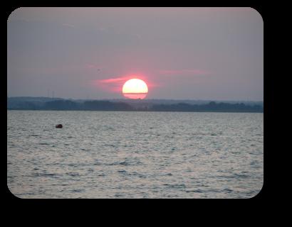 Sunset Barnegat Bay, Lavallette, NJ on 11 July  20:23.