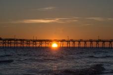 Sunset Atlantic Beach on 31 January at 17:32:15 ISO 200 f/10 1/400s