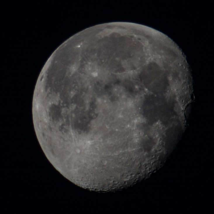 February 3rd -Waning gibbous - 89% down - taken at5 06:51:36 ISO 125 f/5.0 1/200s