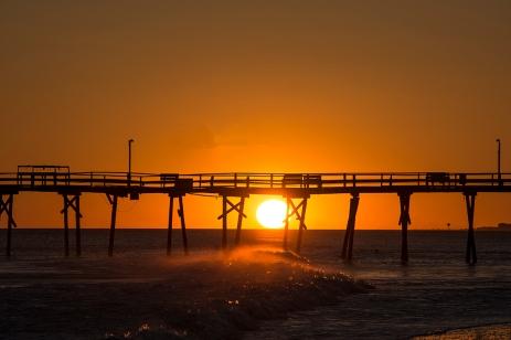 Sunset at Atlantic Beach at 17:59:51 ISO 125 f/4.5 1/640s