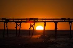 Sunset at Atlantic Beach at 18:00:57 ISO 125 f/5.3 1/250s