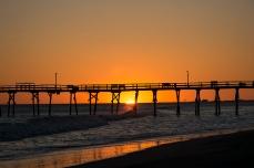 Sunset at Atlantic Beach at 18:03:17 ISO 125 f/4.5 1/400s