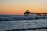 Atlantic Beach at 18:03:27 ISO 125 f/4.5 1/80s