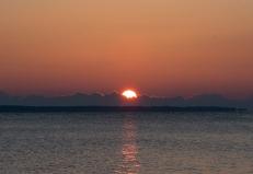 Sunrise at 07:24:31 ISO 100 f/4 1/200s