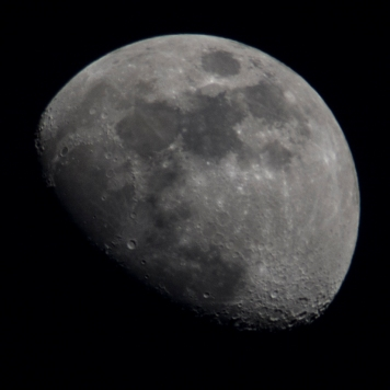 Taken March 26 at 19:35:53 Waxing Gibbous 71%