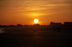 Sunset at Atlantic Beach on 5 April ISO 280 f/8.0 1/1000