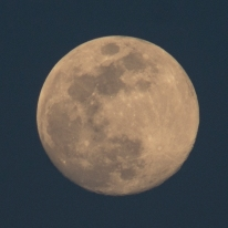 Moon rise on 28th of April at 19:45:08. The moon was at 98% Waxing Gibbous ISO 200 f/8 1/125