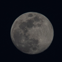 Moon rise on 28th of April at 19:54:49. The moon was at 98% Waxing Gibbous ISO 200 f/8 1/125