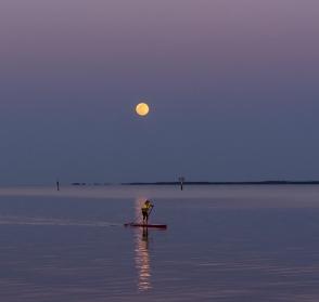 Moon Rise at 19:53:45 Full Moon 100% ISO 500 f/2.5 1/125