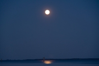 Moon Rise at 20:07:50 Full Moon 100% ISO 500 f/4.8 1/6