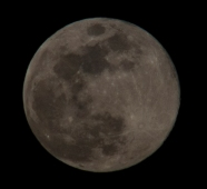 Moon Rise at 20:10:52 Full Moon 100% ISO 200 f/9 1/200