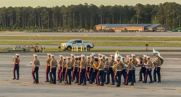 MCAS Cherry Point Marching BandiPhone
