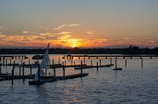 Sunset Trent River at 18:19:54 Shutter Speed: 1/100 Aperture: f/5 ISO: 100