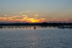 Sunset Trent River at 18:22:56 Shutter Speed: 1/80 Aperture: f/4.5 ISO: 100