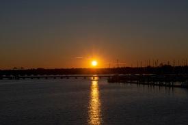 Sunset on the 21st