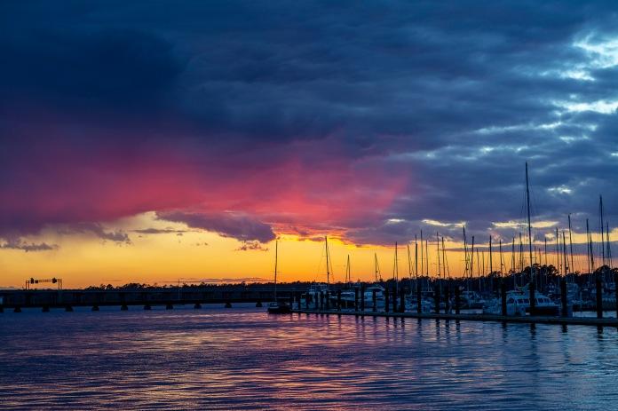 Sunset at 16:55:55 Shutter Speed: 1/60 Aperture: f/4 ISO: 560