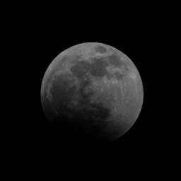 Lunar Eclipse at 22:38:13 Shutter Speed: 1/200 Aperture: f/16 ISO: 200 300mm