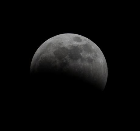 Lunar Eclipse at 23:00:09 Shutter Speed: 1/200 Aperture: f/11 ISO: 200 300mm