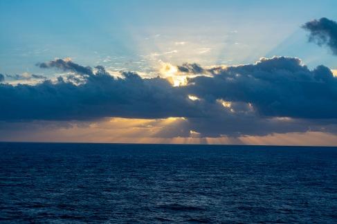Sunrise at 06:37