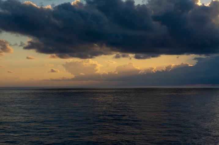 Sunset at 17:02