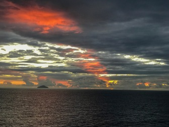 Sunset at 18:10