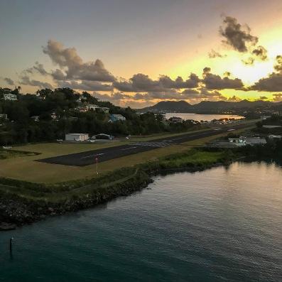Sunrise in St. Lucia