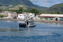 St. Kitts Coast Guard Boat