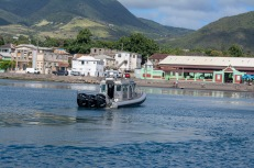 St. Kitts Coast Guard Boat