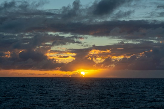 Sunset at 17:43