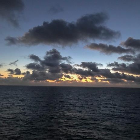 Sunrise at 05:39