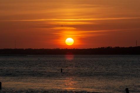 Sunset at 19:58 Shutter Speed: 1/125 Aperture: f/14 ISO: 125