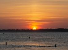 Sunset at 20:00 Shutter Speed: 1/200 Aperture: f/7 ISO: 200