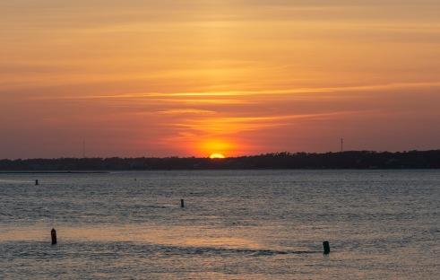 Sunset at 20:01 Shutter Speed: 1/160 Aperture: f/6.3 ISO: 200