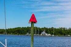 #4 Channel Marker for Whittaker Creek