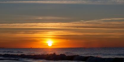 Sunrise at 06:40 on Veteran's Day Shutter Speed: 1/250 Aperture: f/8 ISO: 140