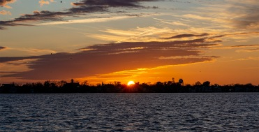 Sunset at 16:50 on 1 December