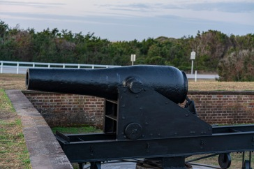 Fort Macon at 07:04 Shutter Speed: .62 seconds Aperture: f/4.5 ISO: 200 70mm