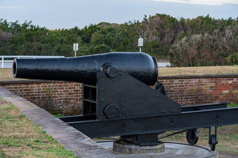 Fort Macon at 07:15 Shutter Speed: .77 seconds Aperture: f/8 ISO: 125 85mm