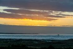 Sunrise over Beaufort Inlet at 07:17 Shutter Speed: 1/160 Aperture: f/4.5 ISO: 125 80mm
