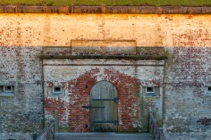 Fort Macon at 07:24 Shutter Speed: 1/100 Aperture: f/8 ISO: 125 55mm