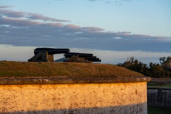 Fort Macon at 07:25 Shutter Speed: 1/80 Aperture: f/4.5 ISO: 125 62mm