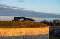 Fort Macon at 07:25 Shutter Speed: 1/80 Aperture: f/4.5 ISO: 125 55mm