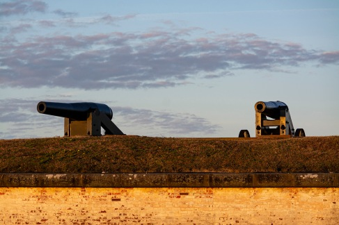 Fort Macon at 07:31 Shutter Speed: 1/250 Aperture: f/4.5 ISO: 250 102mm