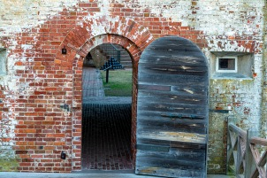 Fort Macon at 07:24 on 31 December Shutter Speed: 1/13 Aperture: f/4.5 ISO 125 62mm
