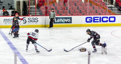 Taken at 22:25 in PNC Arena Shutter Speed: 1/200 Aperture: f/1.8 ISO: 200 50mm