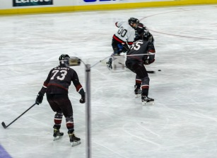 Taken at 22:35 in PNC Arena Shutter Speed: 1/125 Aperture: f/5.6 ISO: 500 50mm