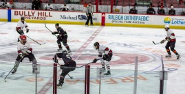 Taken at 22:41 in PNC Arena Shutter Speed: 1/250 Aperture: f/2 ISO set Auto: 125 50mm