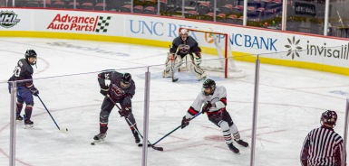 Taken at 22:48 in PNC Arena Shutter Speed: 1/250 Aperture: f/2 ISO set Auto: 160 50mm